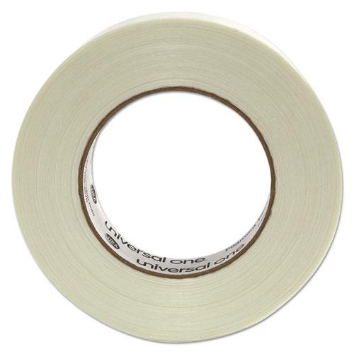 "350# Premium Filament Tape, 3"" Core, 24 mm x 54.8 m, Clear. Picture 3"