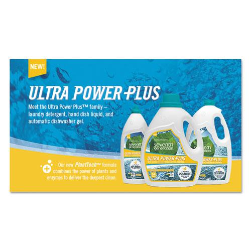 Natural Liquid Laundry Detergent, Ultra Power Plus, Fresh Scent, 54 Loads, 95 oz. Picture 6