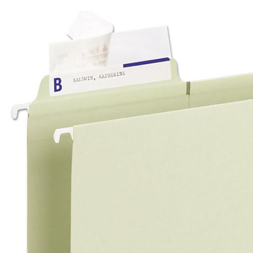 Seal & View File Folder Label Protector, Clear Laminate, 3-1/2x1-11/16, 100/Pack. Picture 3