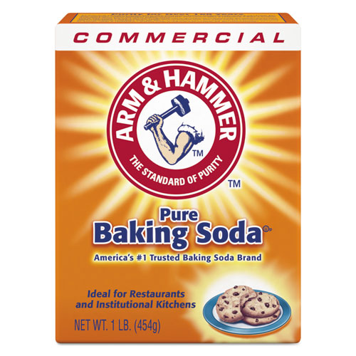 Baking Soda, 1 lb Box, 24/Carton. Picture 1