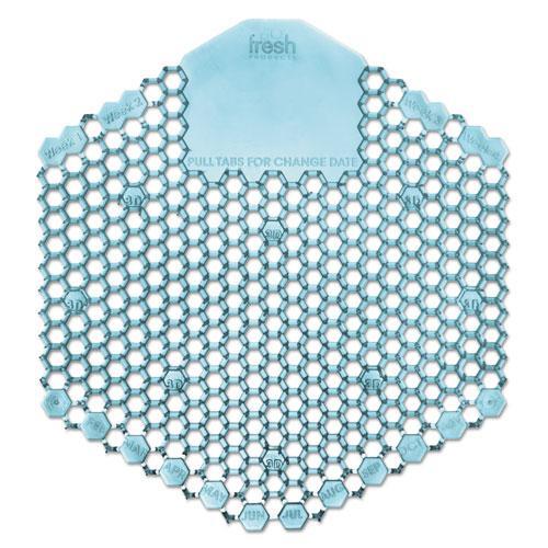 Wave 3D Urinal Deodorizer Screen, Blue, Ocean Mist Fragrance, 10 Screens/Box. Picture 1