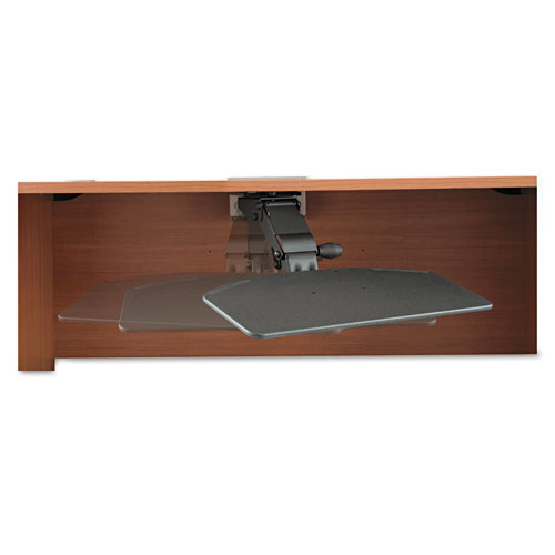 Bush Business Furniture Articulating Keyboard Tray, Galaxy. Picture 2