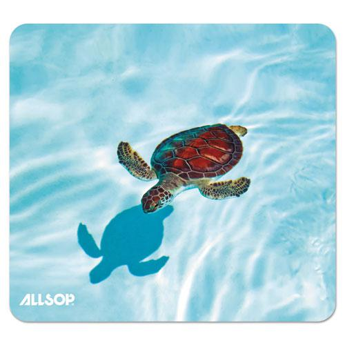 Naturesmart Mouse Pad, Turtle Design, 8 1/2 x 8 x 1/10. Picture 1