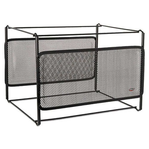 Letter Size Mesh File Frame Holder, Wire, 12 3/8 x 11 3/8 x 9