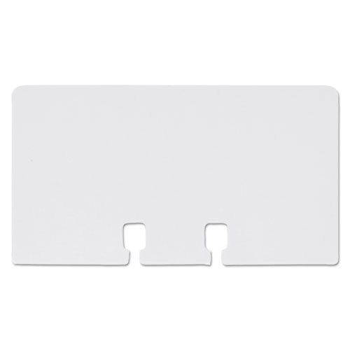 Plain Unruled Refill Card, 2 1/4 x 4, White, 100 Cards/Pack. Picture 3