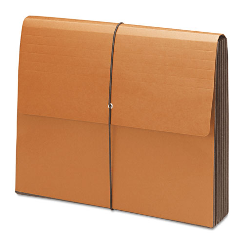 """100% Recycled Redrope Wallets, 5.25"""" Expansion, 1 Section, Letter Size, Redrope, 10/Box. Picture 2"""