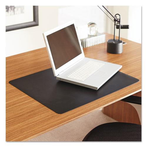 Natural Origins Desk Pad 24 X 19 Matte Black