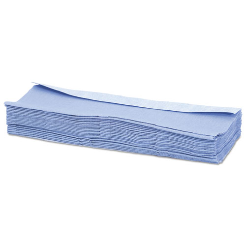 Advanced Performance Wipers, Blue, 12 x 16 3/4, Dispenser, 150/Ct. Picture 2