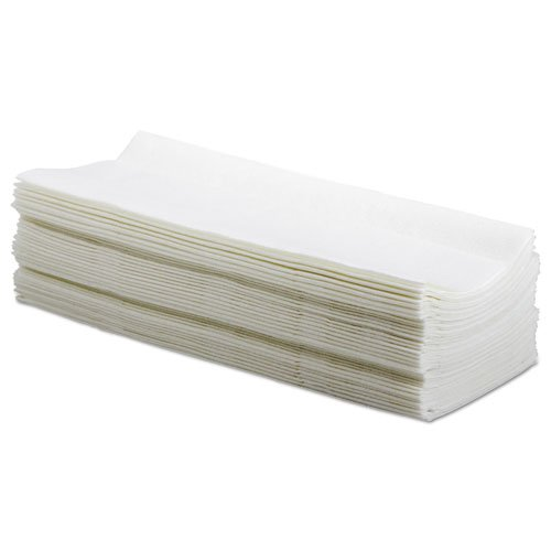Hydrospun Wipers, White, 9 x 16 3/4, 10 Pack Dispensers of 100, 1000/Carton. Picture 2