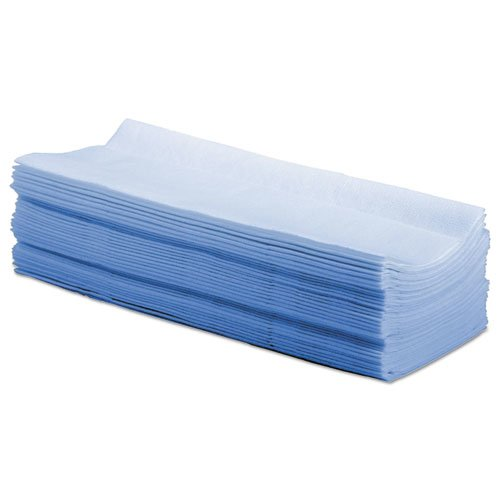 Hydrospun Wipers, Blue, 9 x 16.75, 100 Wipes/Box, 10 Boxes/Carton. Picture 2