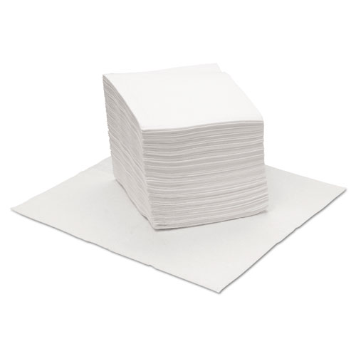 DRC Wipers, White, 12 x 13, 18 Bags of 56, 1008/Carton. Picture 1