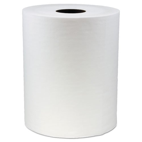 Hydrospun Wipers, White, 12 x 13, 870/Roll. Picture 2