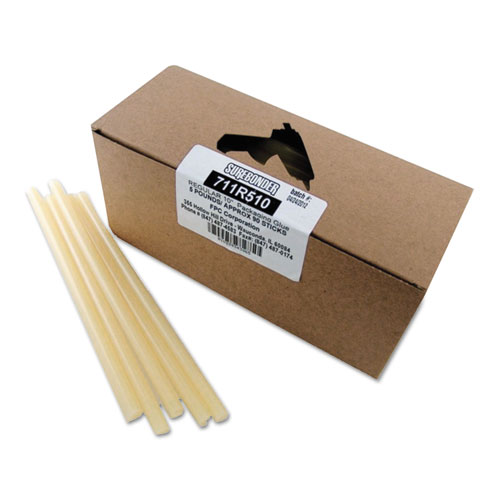 "Packaging Glue Sticks, 0.43"" x 10"", Dries Amber, 90/Box. Picture 1"