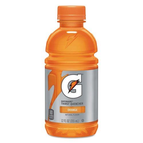 G-Series Perform 02 Thirst Quencher, Orange, 12 oz Bottle, 24/Carton. Picture 1