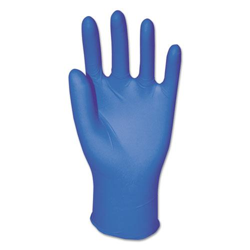 General Purpose Nitrile Gloves, Powder-Free, Large, Blue, 3 4/5 mil, 1000/Carton. Picture 1