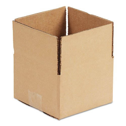 Brown Corrugated - Fixed-Depth Shipping Boxes, 12l x 12w x 8h, 25/Bundle. Picture 1