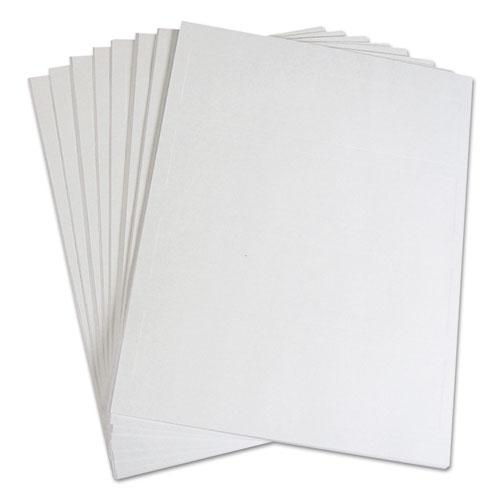 Embossed Tent Cards, White, 2.5 x 8.5, 2 Card/Sheet, 50 Sheets/Box. Picture 6