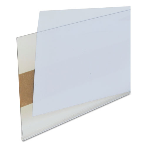 Self-Adhesive Label Holders, Top Load, 3 x 5, Clear, 50/Pack. Picture 4
