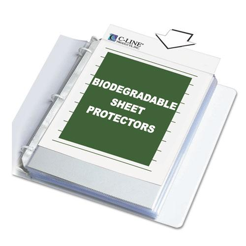 """Sheet Protectors, Clear, Polypropylene, 2"""", 11 x 8 1/2, 100/BX. Picture 5"""