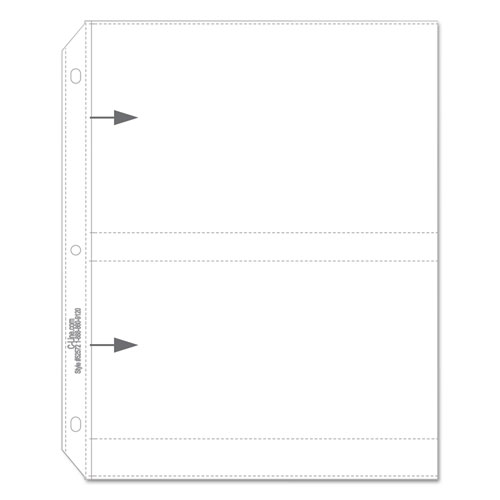 Clear Photo Pages for Four 5 x 7 Photos, 3-Hole Punched, 11-1/4 x 8-1/8. Picture 4