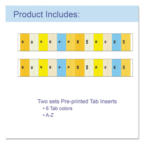"""13-Pocket Expanding File, 9.25"""" Expansion, 13 Sections, 1/13-Cut Tab, Letter Size, Blue. Picture 3"""