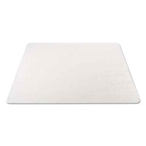 Moderate Use Studded Chair Mat for Low Pile Carpet, 46 x 60, Rectangular, Clear. Picture 4