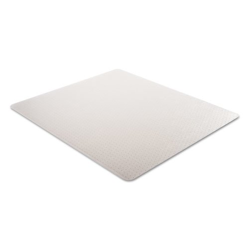 Moderate Use Studded Chair Mat for Low Pile Carpet, 46 x 60, Rectangular, Clear. Picture 7