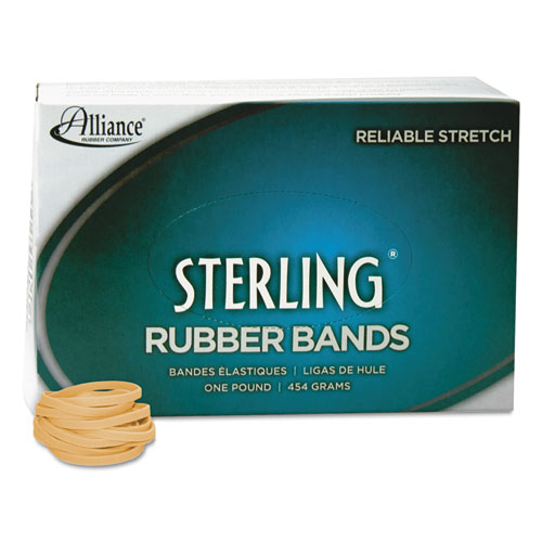 "Sterling Rubber Bands, Size 30, 0.03"" Gauge, Crepe, 1 lb Box, 1,500/Box. Picture 2"