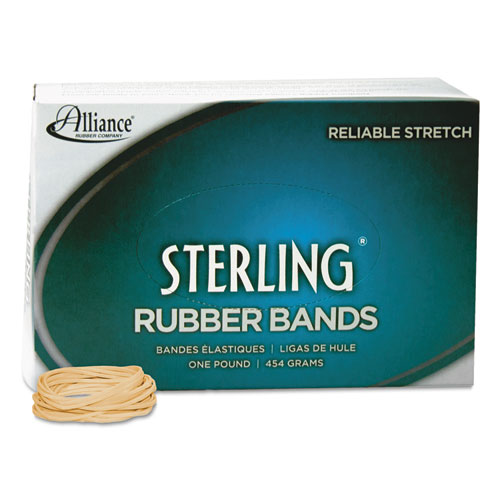"""Sterling Rubber Bands, Size 14, 0.03"""" Gauge, Crepe, 1 lb Box, 3,100/Box. Picture 2"""