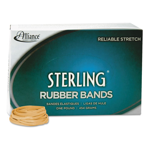 """Sterling Rubber Bands, Size 31, 0.03"""" Gauge, Crepe, 1 lb Box, 1,200/Box. Picture 2"""