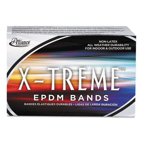 """X-Treme Rubber Bands, Size 117B, 0.08"""" Gauge, Black, 1 lb Box, 200/Box. Picture 2"""
