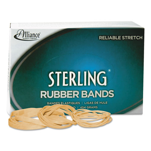 "Sterling Rubber Bands, Size 30, 0.03"" Gauge, Crepe, 1 lb Box, 1,500/Box. Picture 1"