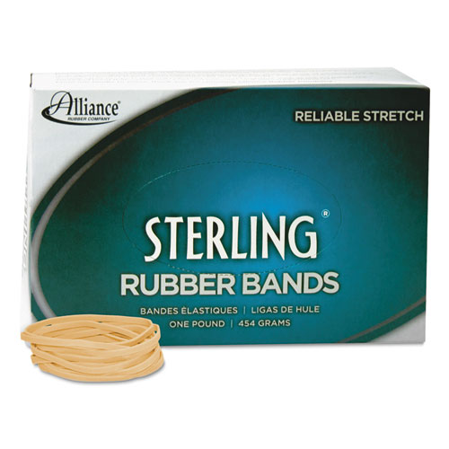"""Sterling Rubber Bands, Size 32, 0.03"""" Gauge, Crepe, 1 lb Box, 950/Box. Picture 3"""