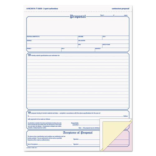 Doc425329 Free Printable Business Forms Free Printable – Free Printable Proposal Forms