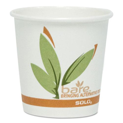 Bare by Solo Eco-Forward Recycled Content PCF Paper Hot Cups, 16 oz, 1,000/Ct. Picture 1