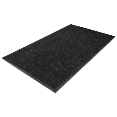 Platinum Series Indoor Wiper Mat, Nylon/Polypropylene, 36 x 60, Black. Picture 2