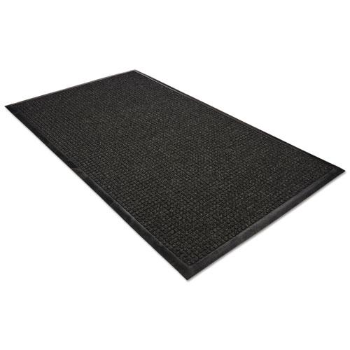 WaterGuard Wiper Scraper Indoor Mat, 36 x 60, Charcoal. Picture 5