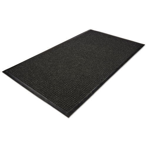 WaterGuard Indoor/Outdoor Scraper Mat, 48 x 72, Charcoal. Picture 3