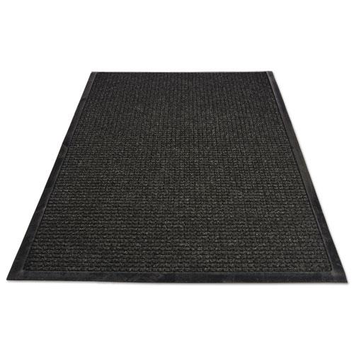 WaterGuard Indoor/Outdoor Scraper Mat, 48 x 72, Charcoal. Picture 4