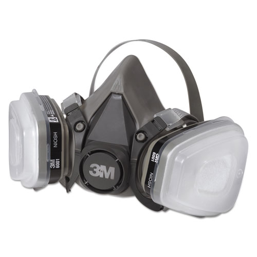 Half Facepiece Paint Spray/Pesticide Respirator, Medium. Picture 2