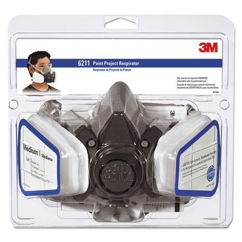 Half Facepiece Paint Spray/Pesticide Respirator, Medium. Picture 1
