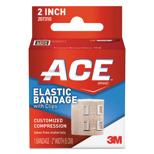 """Elastic Bandage with E-Z Clips, 2"""" x 50"""". Picture 1"""