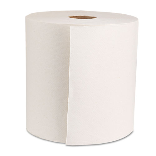 "Boardwalk Green Universal Roll Towels, Natural White, 8""x800ft, 6 Rolls/Carton. Picture 2"