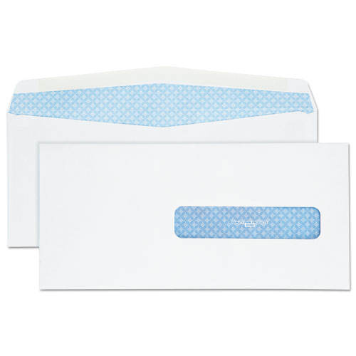 Security Tinted Insurance Claim Form Envelope, Commercial Flap, Redi-Seal Closure, 4.5 x 9.5, White, 500/Box. Picture 1