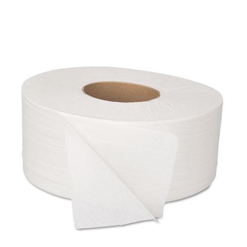 "JRT Bath Tissue, Jumbo, Septic Safe, 2-Ply, White, 3.5"" x 1000 ft, 12 Rolls/Carton. Picture 2"