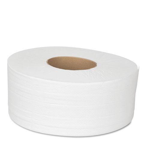 "JRT Bath Tissue, Jumbo, Septic Safe, 2-Ply, White, 3.5"" x 1000 ft, 12 Rolls/Carton. Picture 3"