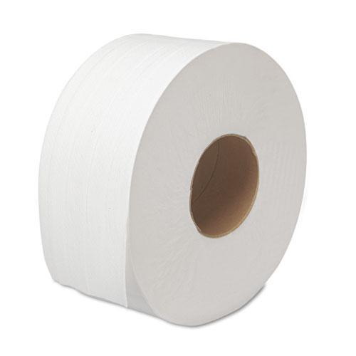 "JRT Bath Tissue, Jumbo, Septic Safe, 2-Ply, White, 3.5"" x 1000 ft, 12 Rolls/Carton. Picture 4"