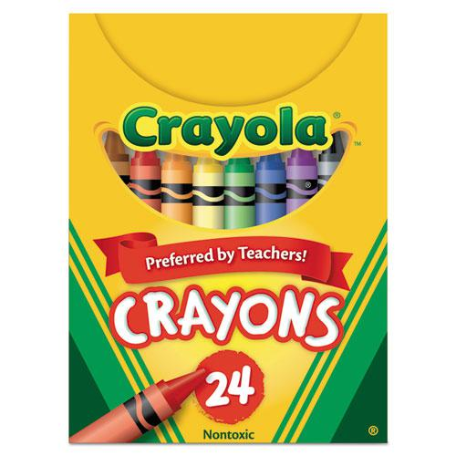 Classic Color Crayons, Tuck Box, 24 Colors. Picture 1
