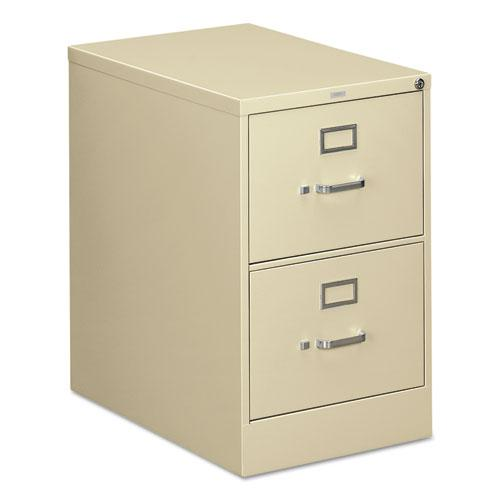 310 Series Two-Drawer Full-Suspension File, Legal, 18.25w x 26.5d x 29h, Putty. Picture 1