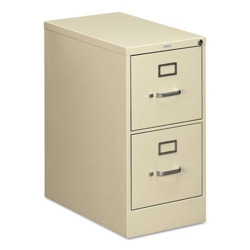 510 Series Two-Drawer Full-Suspension File, Letter, 15w x 25d x 29h, Putty. Picture 1